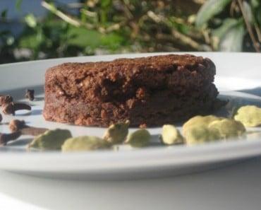 Masala Chai Brownies