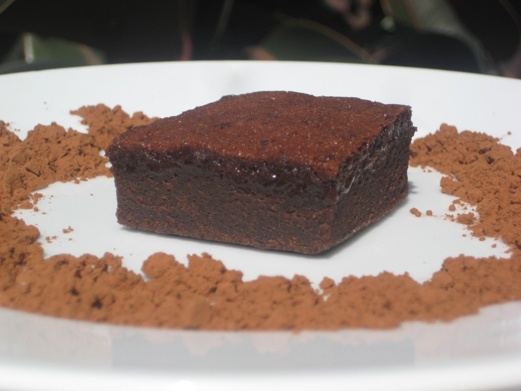Cocoa Brownie Pudding