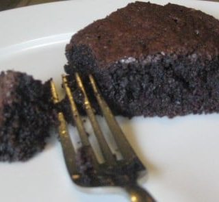 This brownie recipe produces a moist and cakey brownie