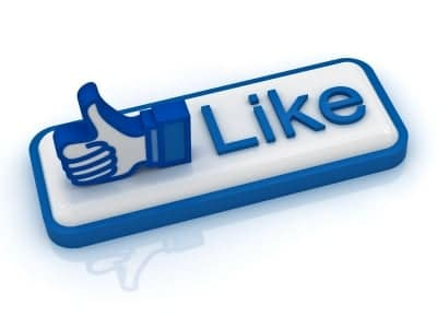 Like button illustration