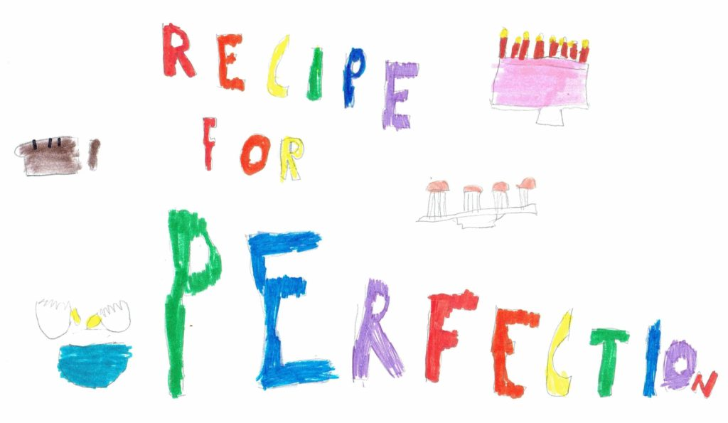 Recipe for Perfection Logo By the Author's Daughter