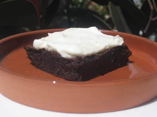 Vietnamese-Style Coffee Brownie with Sweetened Condensed Milk FrostingVietnamese-Style Coffee Brownie with Sweetened Condensed Milk Frosting