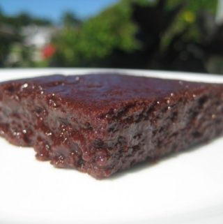 Chocolate fudge brownie recipe