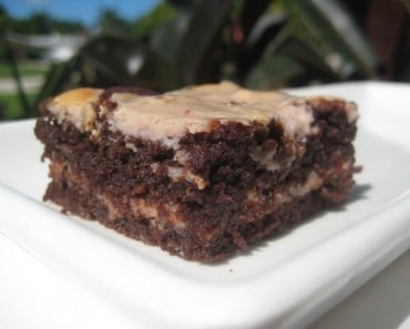 IKEA lingonberry jam and cream cheese cheesecake brownie recipe