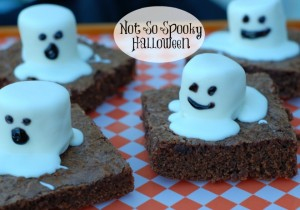 Not So Spooky Brownies