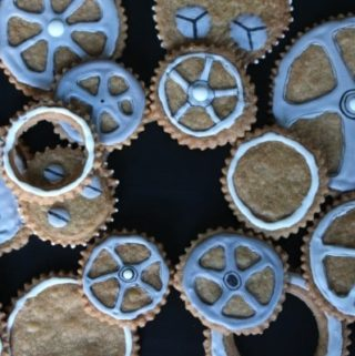 Doctor Who Gear Cookies Recipe