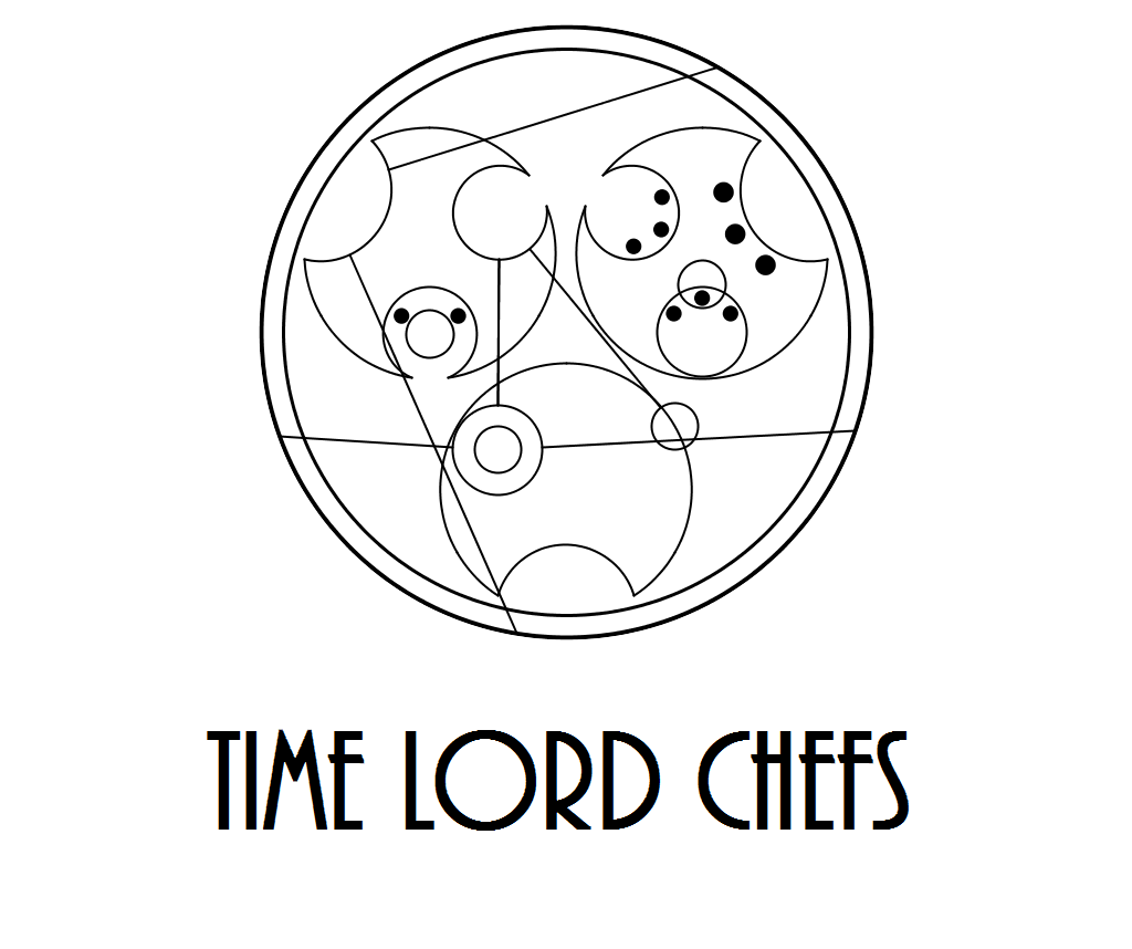 doctor who recipe event logo