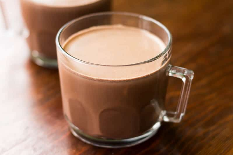 Anyhow, here's my own personal recipe for hot chocolate, hot cocoa ...