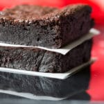 My flourless Mexican brownies are thick, rich, and flavored with real Mexican vanilla, Ceylon cinnamon, and a subtle hint of spiciness.