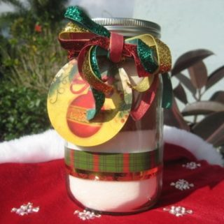 Brownie Mix in a Jar Gift Recipe wide