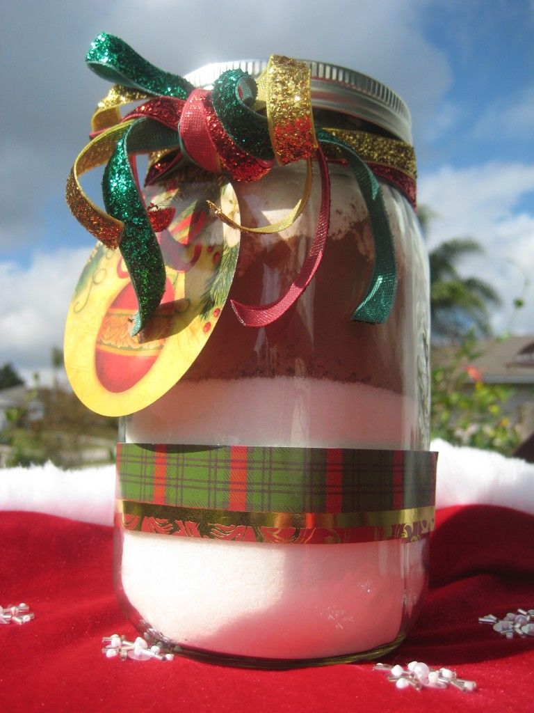 Brownie Mix in a Jar Gift Tall
