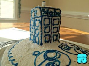 Doctor Who - Donna's Wedding Cake - TimeLordChefs