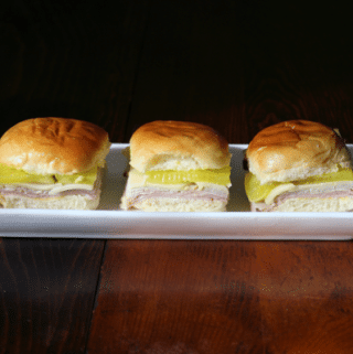 Cuban Sandwich Sliders