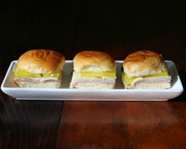 Cuban Sandwich Sliders Horizontal