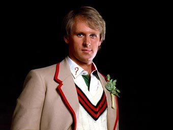 Peter Davison, the Fifth Doctor