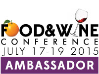 Brand Ambassador Food and Wine Conference