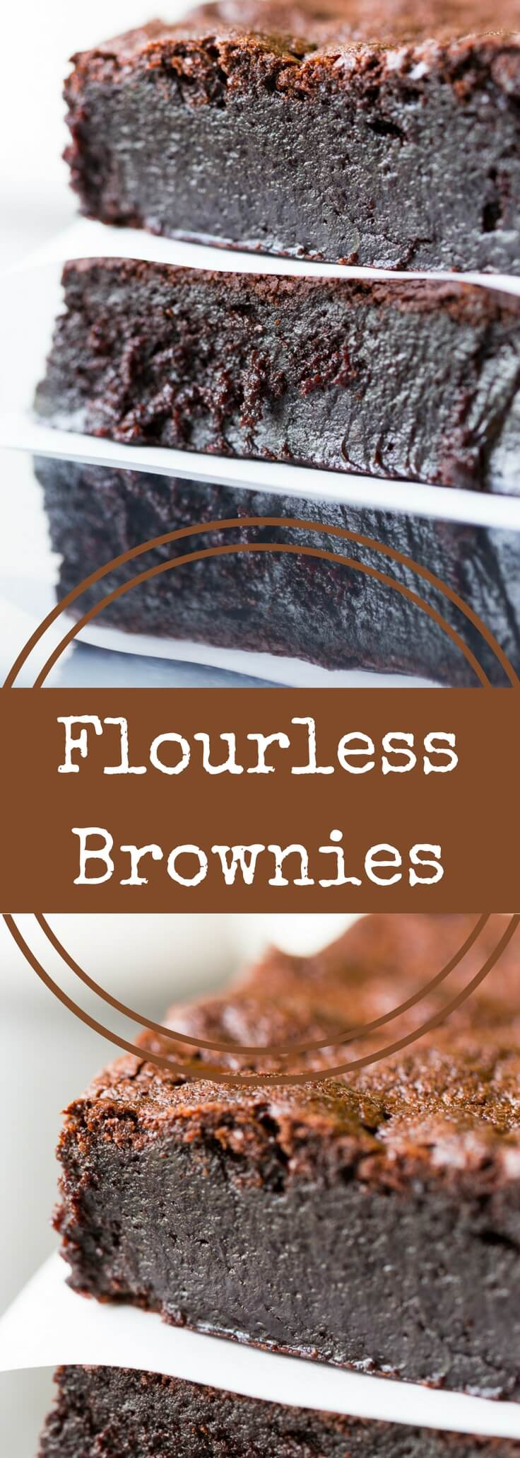 Decadent Flourless Brownies Recipe