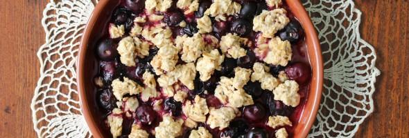 Quick Blueberry Granola Mix-In Recipe