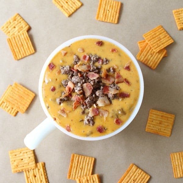 Beer Lover's Bacon Cheeseburger Dip Recipe by Recipe for Perfection