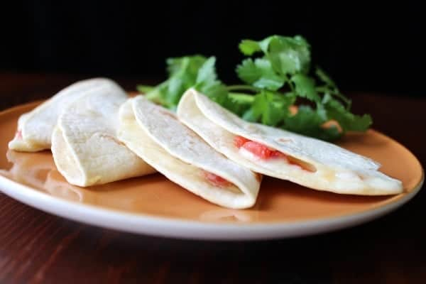 Oven Baked Quesadillas with ROTEL and Mexican Melting Cheese