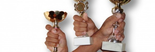 Sisterhood Award trophy photo