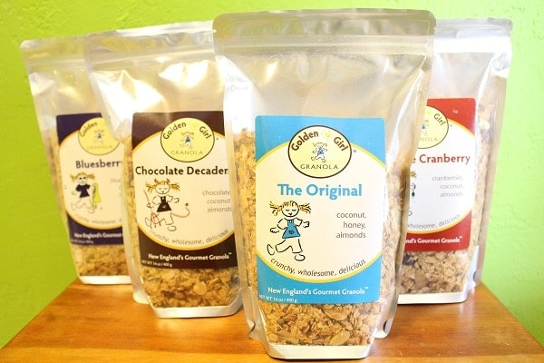 Golden Girl Granola Bags