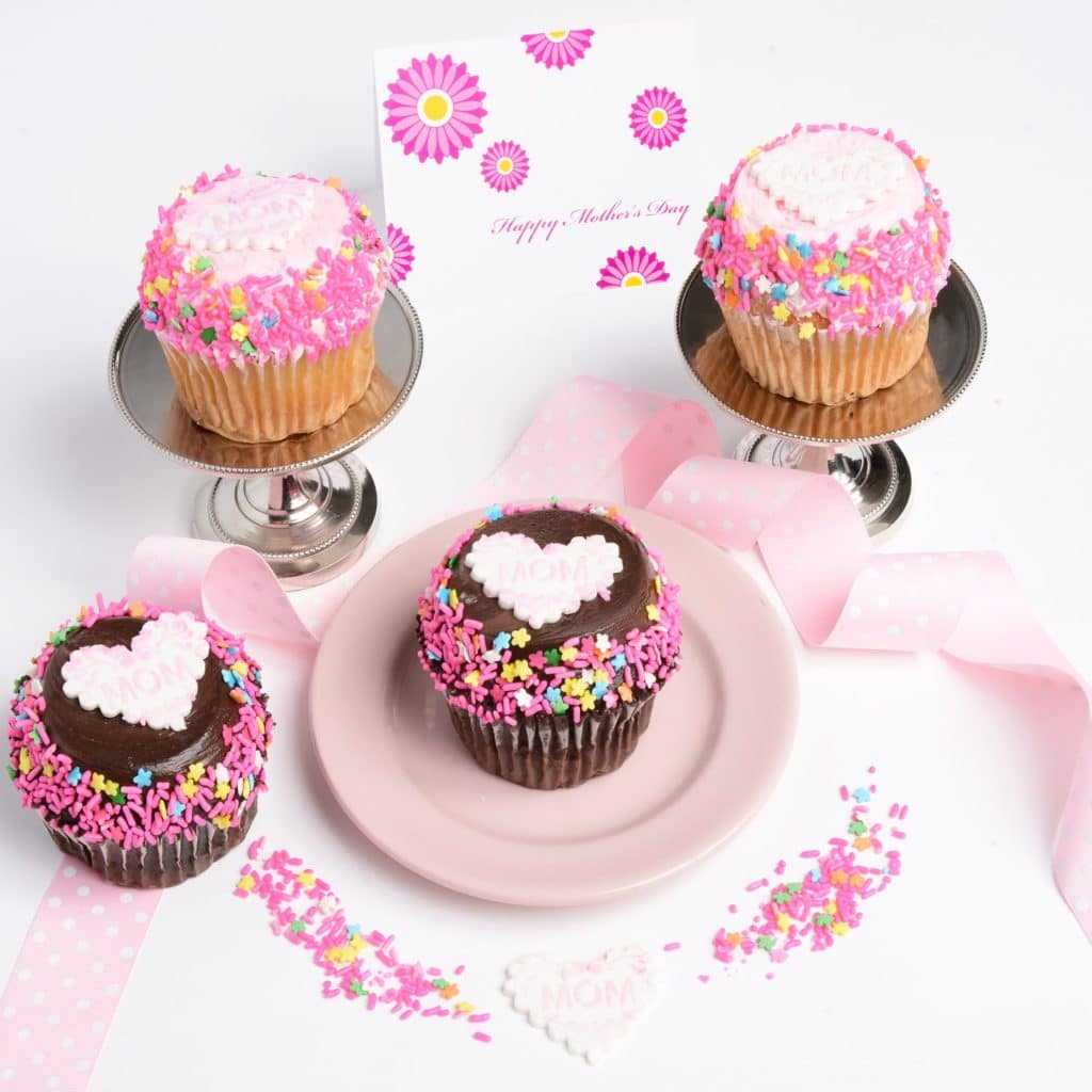 Gift Ideas for Mother's Day: Mom would love an assortment of cupcakes!