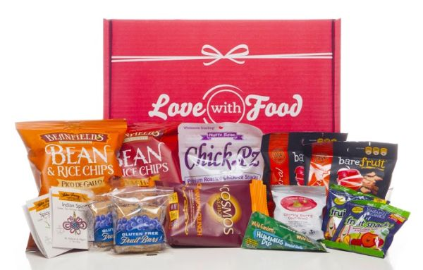 Gift Ideas for Mother's Day: Give Mom a gift that keeps on giving. Try a subscription snack box!
