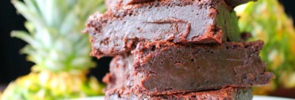 Rum Pineapple Chocolate Fudge Brownies Recipe