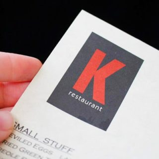 K Restaurant and Wine Bar: New American Cuisine in a Cozy Setting