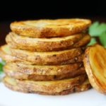 Olive Oil and Sea Salt Oven-Roasted Crispy Potato Rounds Recipe