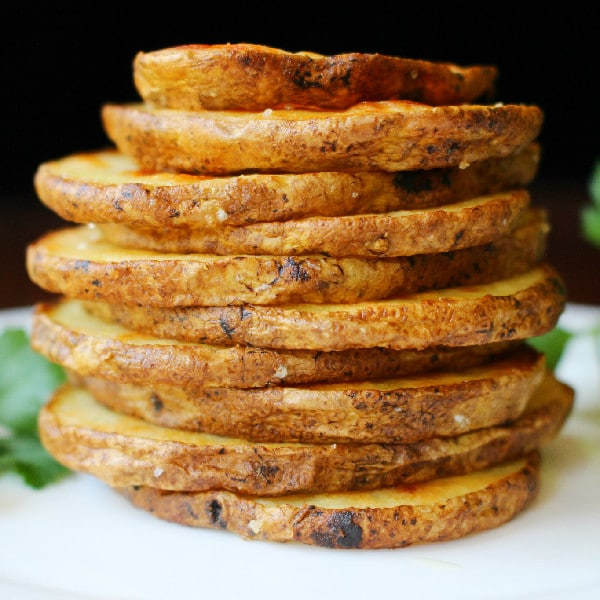 Oil and sea salt oven roasted crispy potato rounds olive oil and sea salt oven roasted crispy potato rounds ccuart Image collections