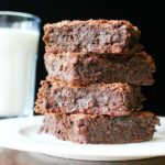 Almond flour brownies recipe to show what is a brownie