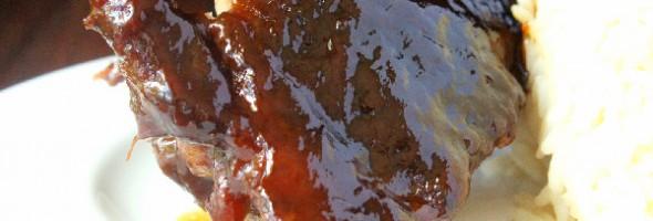Asian Five Spice Peanut Sauce Ribs