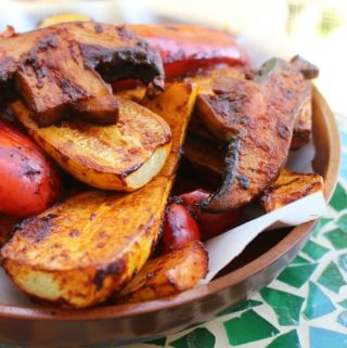 Grilled Vegetables Homemade Habanero Adobo Sauce Recipe