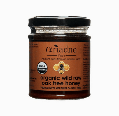 ariadne pure oak tree honey
