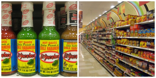 El Yucateco Hot Sauce at Publix