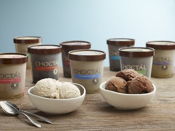 Choctal Ice Cream Chocolate and Vanilla