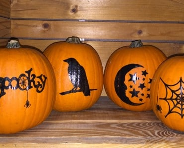Decorated Pumpkins Fall Gifts
