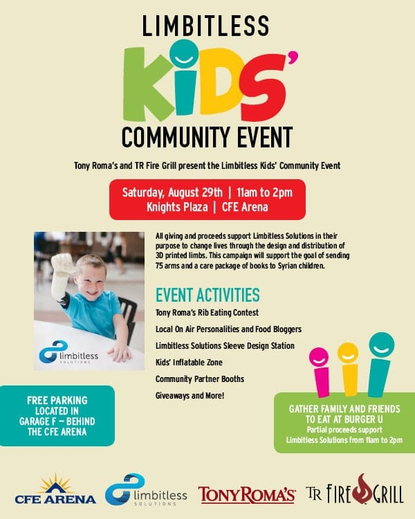 Limbitless Kids Community Event