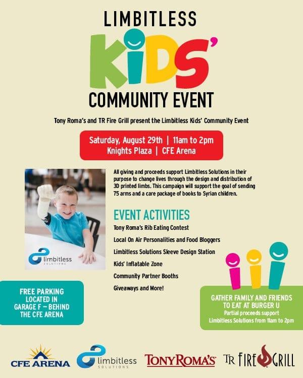 Limbitless Kids Community Event