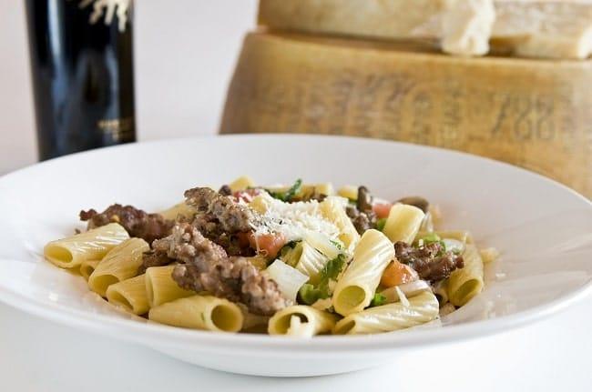 Portobello Rigatoni Calabrese Recipe