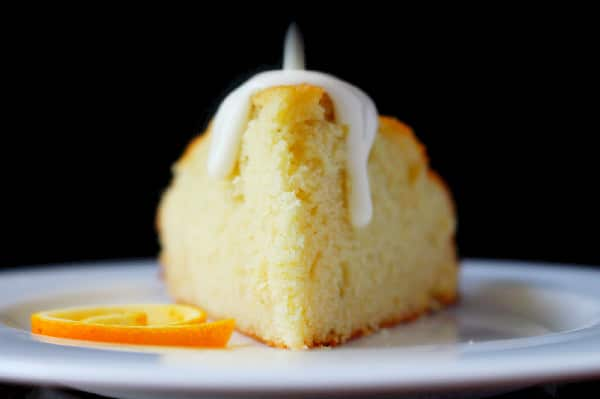 Spaghetti Squash Cake with Orange Peel