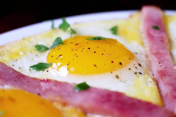 Sunny Side Up Frittata Egg