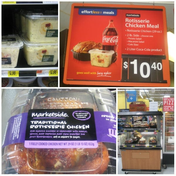 Walmart Effortless Meals Rotisserie Chicken