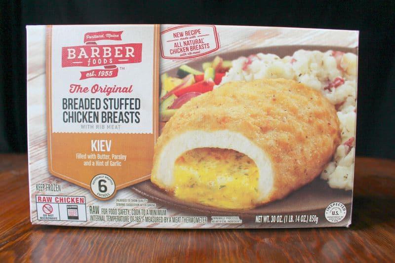 Barber Foods Chicken Kiev Box