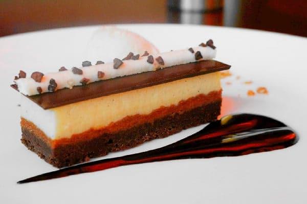 Chocolate Bar Dessert at Urban Tide Restaurant