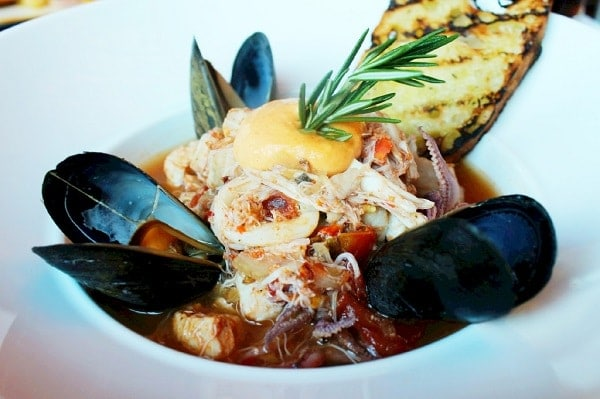 Cioppino at Urban Tide Orlando Seafood Restaurant