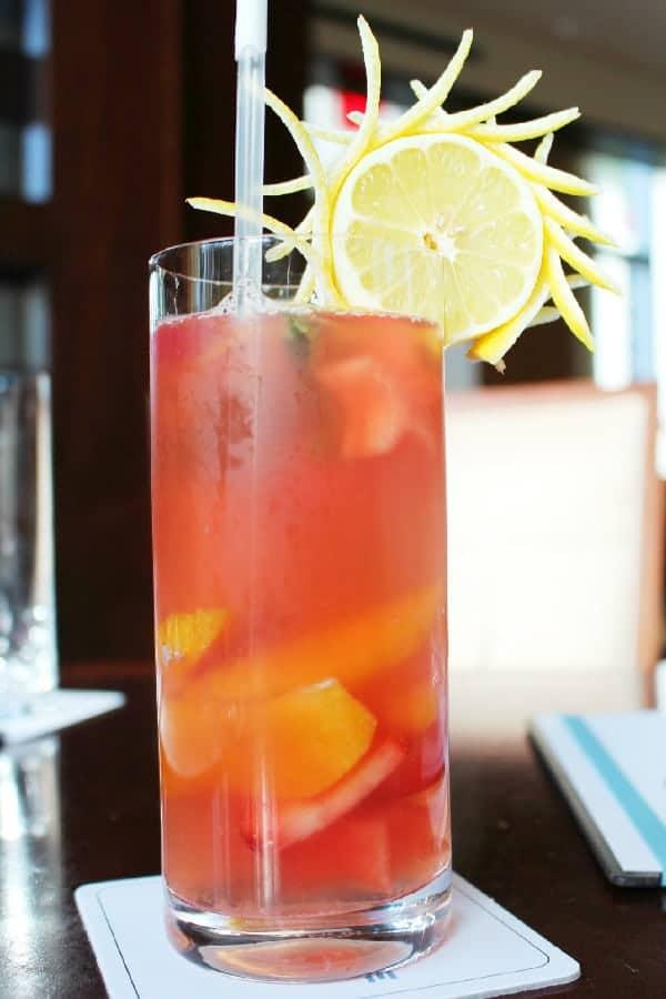 Fruit Drink at Urban Tide Hyatt Regency Orlando