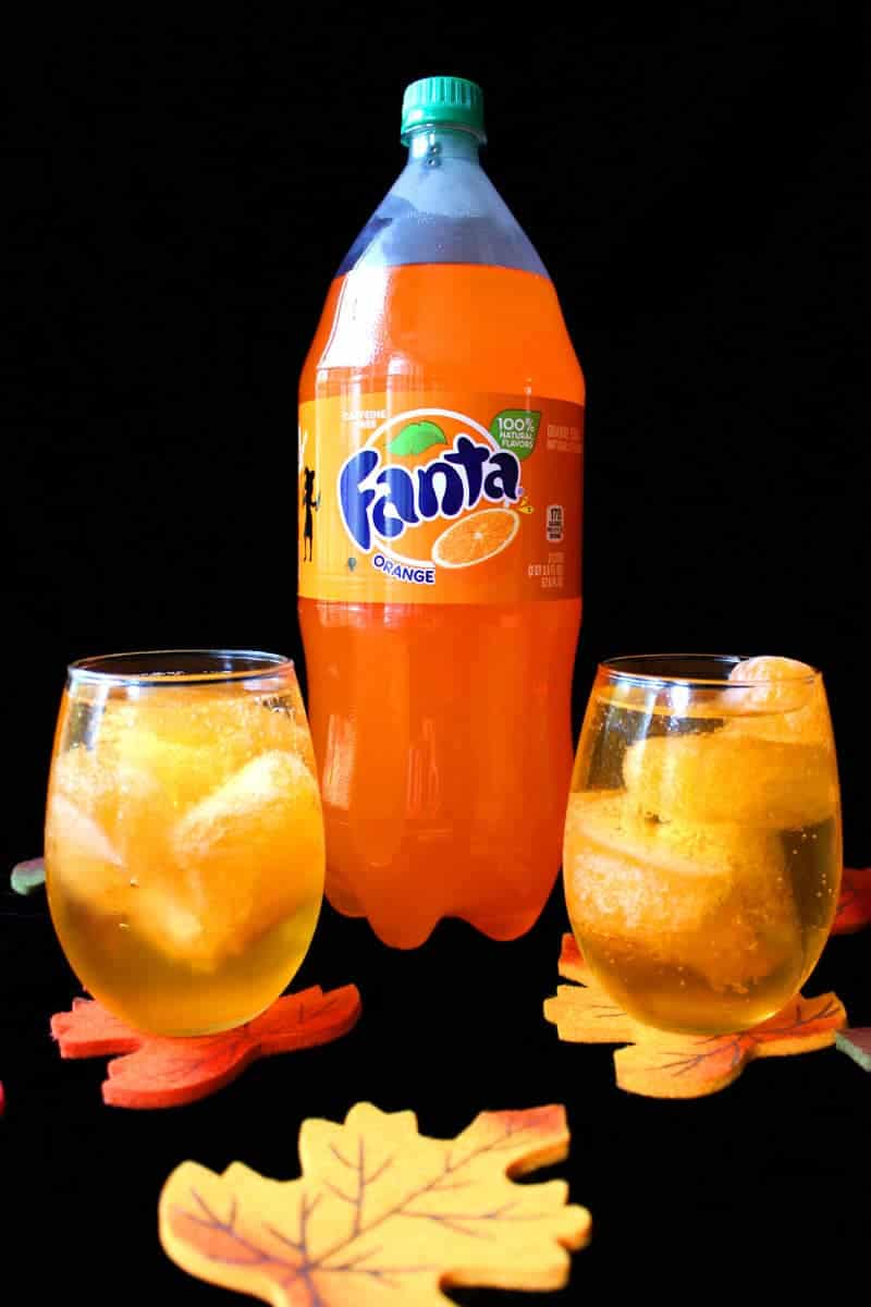 Ombre Fanta Halloween Punch